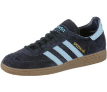 Sneaker 'Spezial' navy / hellblau / braun