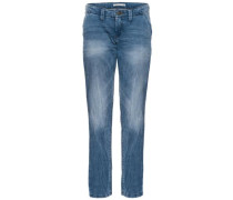 Slim Fit Jeans 'Afed' blue denim