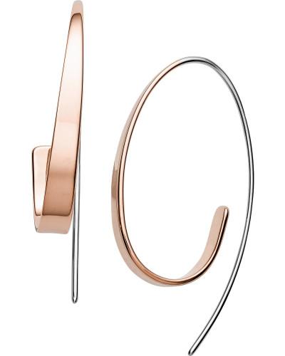 Ohrhänger rosegold / silber