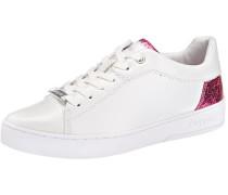 Sneakers neonpink / weiß