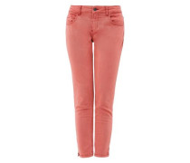 'Shape Skinny ' Stretch-Jeans rostrot / pastellrot