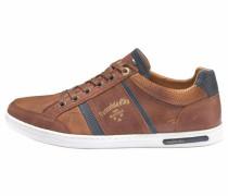 Sneaker 'Mondovi Uomo Low' himmelblau / cognac