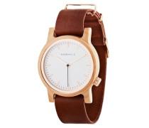 Uhr Wilma Maple/Cognac braun