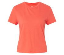 Shirt 'shrunken' koralle
