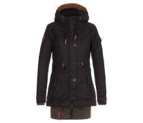 Female Jacket Langes Fädchen Faules Mädchen IV schwarz