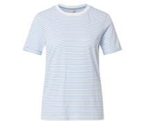 T-Shirt 'Ria' weiß / hellblau