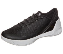 'Curry 3 Low' Basketballschuh schwarz