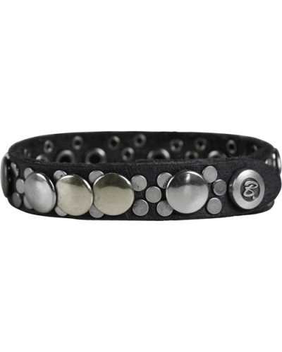 Armband Leder 205 cm schwarz