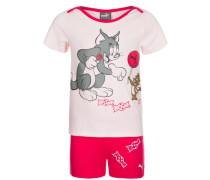 Tom & Jerry Freizeit-Set pink / weiß