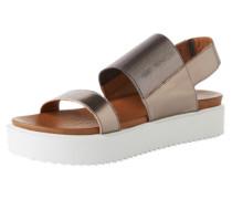 Sandaletten '6001' grau / silber
