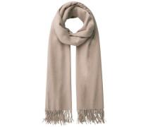 Woll-Schal beige