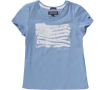 Baby T-Shirt für Mädchen blau