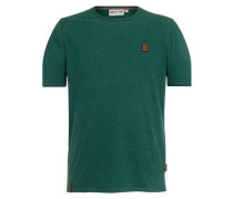 T-Shirt 'Dirty Italienischer Hengst' smaragd