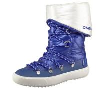 Montebelluna Stiefel blau / weiß