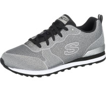 Sneaker Low 'Retros 85' grau / schwarz