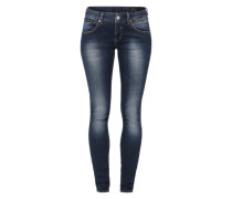 'Touch' Slim-Fit-Jeans dunkelblau