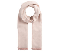 Mini-Streifenmuster-Schal pink