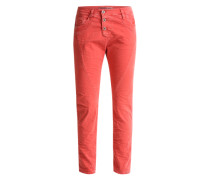 'Boyfriend' Hose in Jeans-Optik hellrot