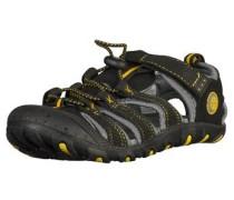 Sandalen anthrazit / schwarz
