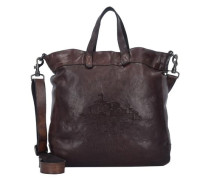 Boldo Shopper Tasche Leder 33 cm braun