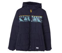 Multifunktionale Outdoor-Jacke blau