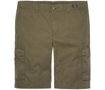 Kurze Hose 'john CRG Short Light Twill' khaki / oliv