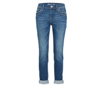 Relaxed Tapered Fit Jeans blue denim
