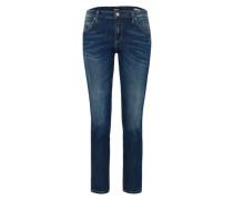 'katewin' Regular Fit Jeans dunkelblau