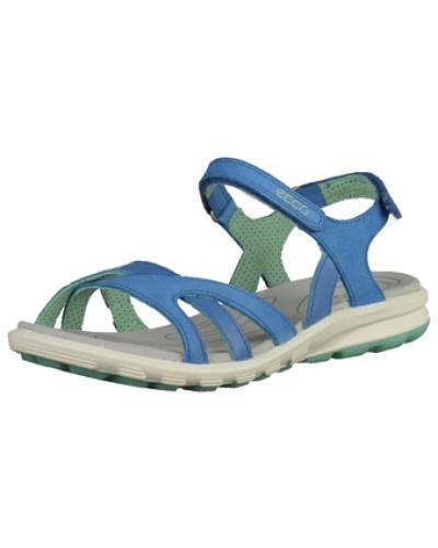 ecco damen ecco sandalen blau 20 reduziert. Black Bedroom Furniture Sets. Home Design Ideas