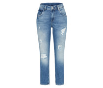 Jeans 'violet' blau