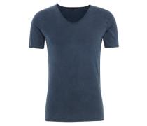 T-Shirt mit V-Ausschnitt 'Brady' marine