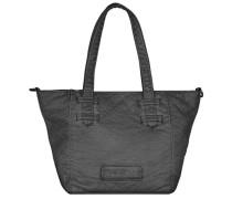 Kiki Washed Handtasche 29 cm schwarz