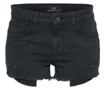 Denim Shorts 'Pamela' black denim