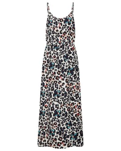 Kleid 'Sadie Nova' schwarz / weiß