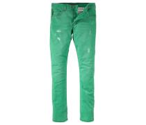 Slim-fit-Jeans »Mitch« grün