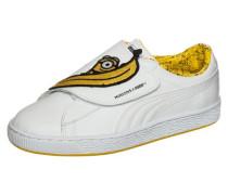 Minions X Basket 'Wrap' Statement Sneaker dunkelgelb / weiß