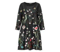 Weit geschnittenes Kleid mit Stickerei