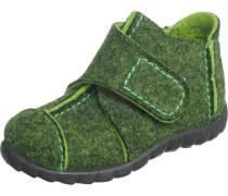 Kinder Hausschuhe Weite M4 grün