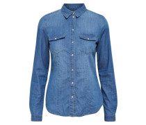 Jeansbluse 'Onlrock' blue denim