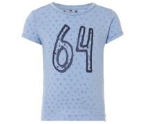 T-shirt Pipa blau / lila