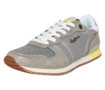 Sneaker Low 'Gable' silbergrau