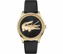 Quarzuhr '2000968' gold / schwarz