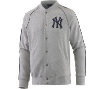 'New York Yankees' Collegejacke Herren graumeliert