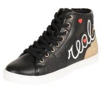 Sneaker high 'Louve' schwarz