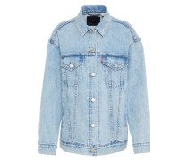 Jeansjacke 'baggy Trucker' blue denim