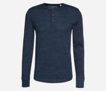 Henley-Shirt navy