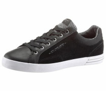 -Sneaker schwarz