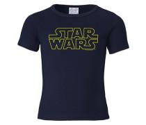 "T-Shirt ""Krieg der Sterne"" blau"