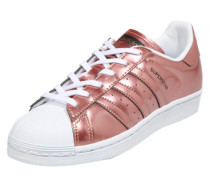 Sneaker 'Superstar' rosé / weiß