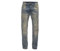 Tapered-Fit-Jeans 'Liam' blau